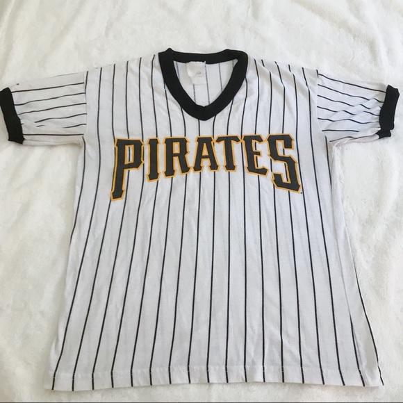 half off 0d6d1 83c69 Vintage Pittsburgh Pirates Majestic Tee